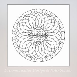 download mandala kleurplaat 1