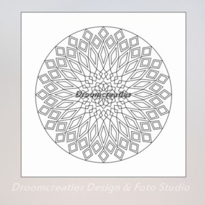 download mandala kleurplaat 10