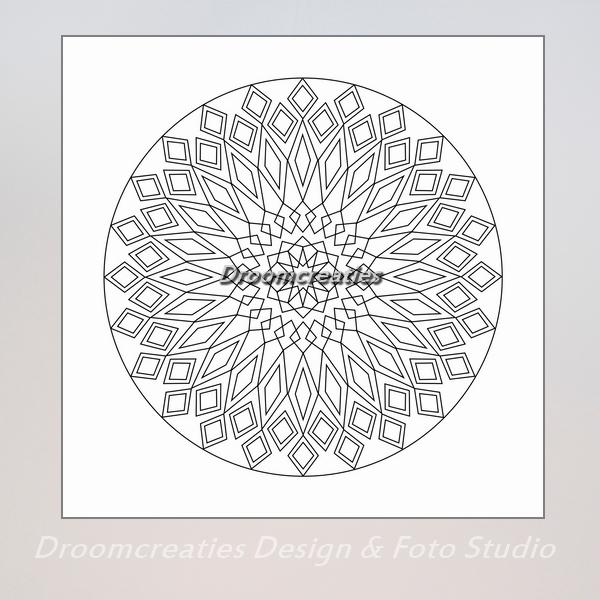 Kleurplaten Mandala Pdf.Download Mandala Kleurplaat 10