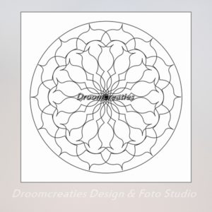 download mandala kleurplaat 2