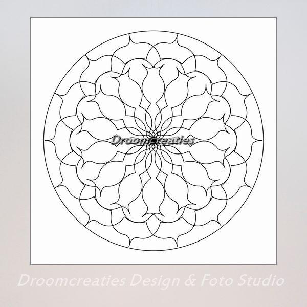download mandala kleurplaat 2
