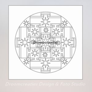 download mandala kleurplaat 6