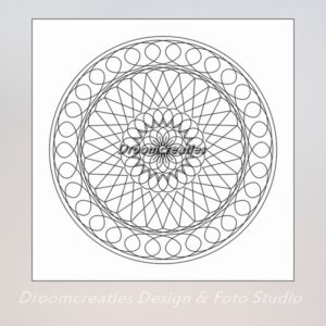 download mandala kleurplaat 7