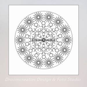 download mandala kleurplaat 8