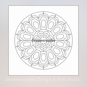 download mandala kleurplaat 9